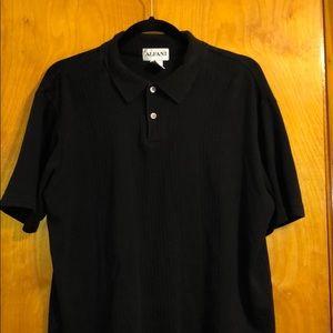 Alfani Black Polo